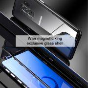 Ốp lưng hít nam châm kính 9H Magnetic Case 360