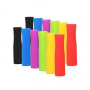 Bộ 2 đầu ống hút silicone mềm không độc hại chịu nhiệt