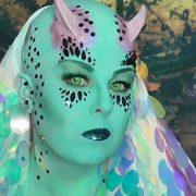 MŨ HÓA TRANG ĐẦU TRỌC HÓI cosplay Halloween