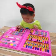 Hộp Bút Màu 86 chi tiết cho bé yêu thỏa sức đam mê làm họa sĩ