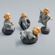 Bộ tượng mini tứ an nhiên nguyện cầu bình an