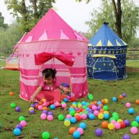 Lều bóng công chúa cho bé dễ dàng mở ra và gập gọn