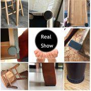 Bộ 6 miếng lót chân bàn ghế kệ giúp chống trầy xướt giảm ồn