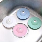 Dụng cụ giữ nước lọc rác thông minh cho bồn rửa chén bát nắp cống