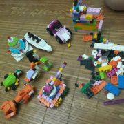 Bộ lắp ghép xếp hình 460 chi tiết cho bé phát triển tư duy sáng tạo