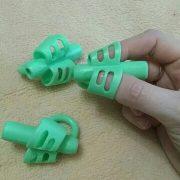 3 đệm tay cao su dụng cụ hỗ trợ cầm bút chuẩn luyện chữ đẹp