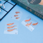 Decal tranh cá chép 3D đẹp mê hồn giống như thật