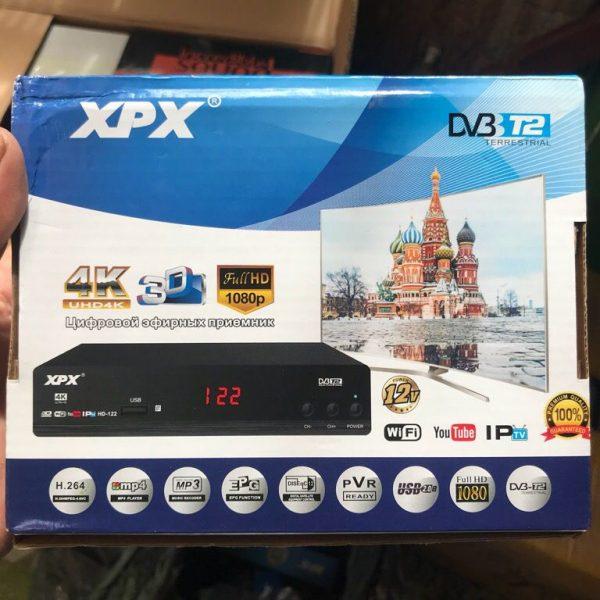 ĐẦU THU KỸ THUẬT SỐ DVB T2 XPX CÓ THỂ XEM YOUTUBE IPTV