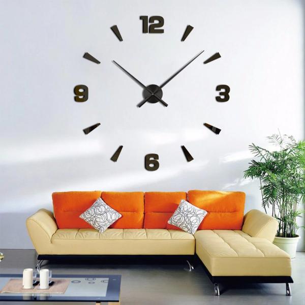 Đồng hồ dán tường sáng tạo tự lắp ghép DIY đẹp