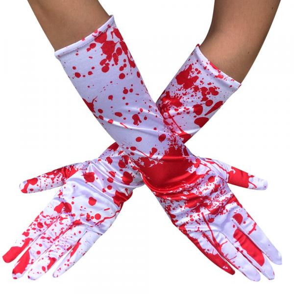 Đôi găng tay máu phụ kiện hóa trang halloween