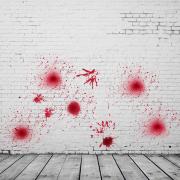 Chai máu giả đầu phun sương đạo cụ hóa trang diễn xuất halloween