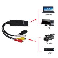 USB chuyển đổi video audio từ AV Svideo DVD VCD CAMERA DVR vào PC laptop