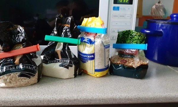 Bộ 3 Dụng cụ kẹp miệng túi thực phẩm