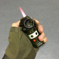 Bật lửa móc khóa hình lựu đạn M-84 lửa khò