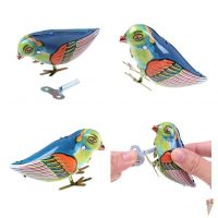 Đồ chơi con chim sắt vặn cót ngộ nghĩnh bird wind-up