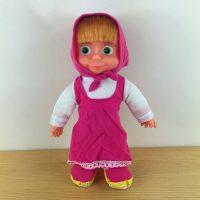 Búp bê Masha nhồi bông váy hồng có nhạc