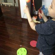 Bóng bàn phản xạ vợt gỗ E-Ball free tab thể thao thời 4.0