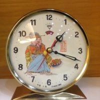 Đồng hồ cơ cót để bàn Diamond Clock nguyên bản ông thần tài thập niên 90
