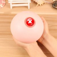 Breast Nhũ Hoa Vú Giả Silicone SQUEEZED Giảm Căng Thẳng Stress Size To