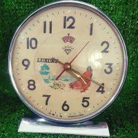 Đồng hồ cơ cót để bàn diamond shanghai gà mái mổ thóc luxury 6604