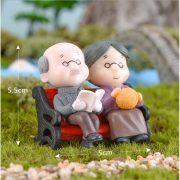 Ông bà anh siêu dễ thương mini phụ kiện trang trí tiểu cảnh terrarium v4