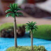 Cây dừa tiểu cảnh phụ kiện trang trí Terrarium Miniatures Bonsai