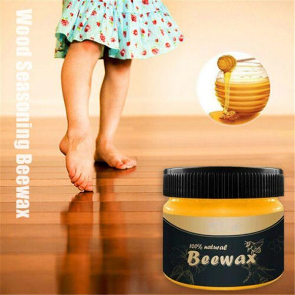 Hộp sáp ong BeeWax chăm sóc nội thất chống ẩm cho gỗ đẹp sáng bóng