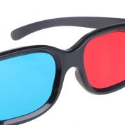 Kính 3D Xanh Đỏ gọng nhựa Plastic Glasses Red Cyan