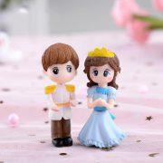 Tượng hoàng tử công chúa trang trí tiểu cảnh terrarium