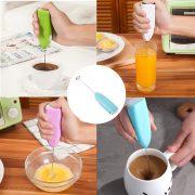 Cây khuấy cafe tạo bọt đánh trứng cầm tay mini