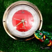 Đồng hồ cơ cót để bàn nguyên bản diamond shanghai thỏi vàng 8110